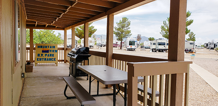 Mountain View RV Park In Huachuca City