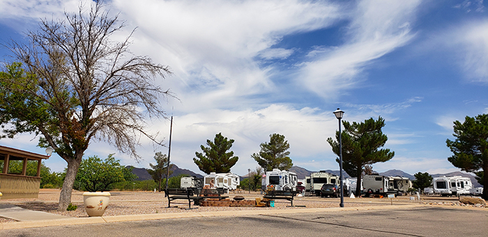 Mountain View RV Park View Of Arizona Mountains