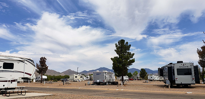 Mountain View RV Park Main Site